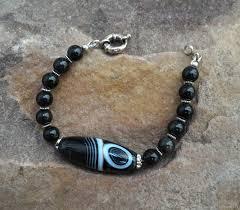 bracelets handmade livemaster handmade bracelet uni zen agate rainbow obsidian