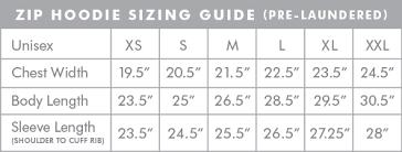 Hoodie Unisex Size Chart Unisex Zip Hoodie Black Artcrank