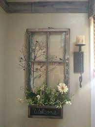 old window frame decor diy window frame
