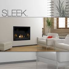 our fullview modern fireplace is great if you like clean minimal lines