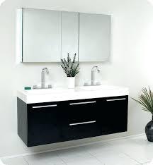 54 fresca onto fvn8013bw black modern double sink bathroom bathroom double vanities bathroom double vanities ikea
