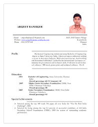 Student Job Resume Sample Templates Samples For College Students