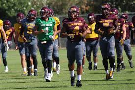 Asu Football Projecting The Initial Depth Chart House Of