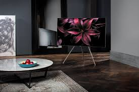 Samsung QLED TV with Studio Stand
