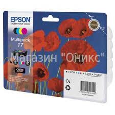 Купить <b>набор</b> оригинальный <b>картриджей Epson C13T17064A10</b> ...