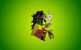 Cartoon Characters High On Weed Wallpaper