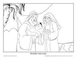 The story of abraham is a wonderful story of god's promise and provision. Abraham Coloring Pages Printable Bible Sheets For Kids