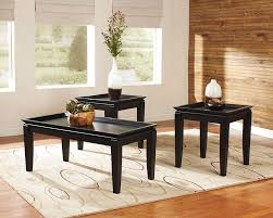 t131 delormy 3pc coffee end tables