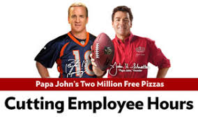 Papa John's CEO: 'In a Bunch of Trouble' for Obamacare Job Cuts