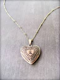 Locket Design For Girl In Silver Personalized Heart Locket Necklace Silver Heart Locket