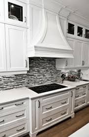 black and gray glass tile