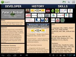 Visual Cv Android Apps On Google Play