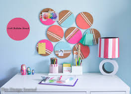 Diy Bulletin Board Design How To Make A Cork Pinboard For A Better Organized Home