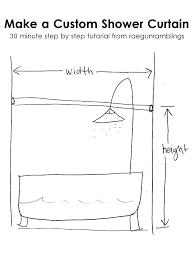 shower curtain widths common curtain lengths standard curtain widths shower curtain tutorial curtains sizes size for shower curtain