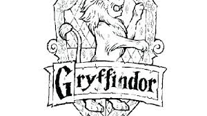 Coloring Pages Harry Potter Crest Coloring Page Crest Coloring Page