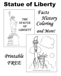 Small Picture The Statue of Liberty Facts Pictures and Coloring Pages