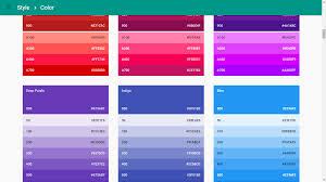 google colors. Exellent Colors Google Material Color Palette On Google Colors