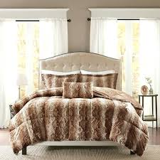 cozy design faux fur bedding king size comforter set comforters medium of pine canopy