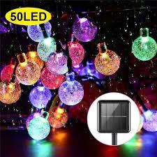 mode bubble ball string lights