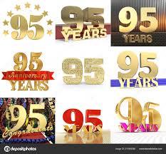 Sixty Design Set Number Sixty One Year Year Celebration Design