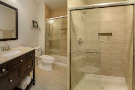 bathroom remodeling company. Steve \u0026 Emily\u0027s Hall Bathroom Remodel Pictures | Home Remodeling . Company