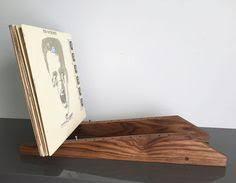 Modern Vinyl LP Record Storage Display Holder In Walnut Holds 80 Albums Of  12 Lp Record Storage A94