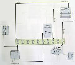 electrical installation wiring diagram hot water only two port motorised valve hot water