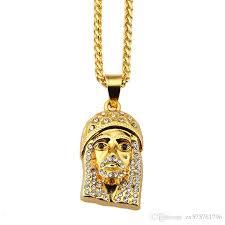 whole fashion jewelry men charms piece necklace long chains design filling pieces male hip hop rock mens pendants necklaces emerald pendant