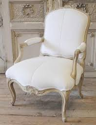 french open arm chair in homespun linen from full bloom cote french decor french country