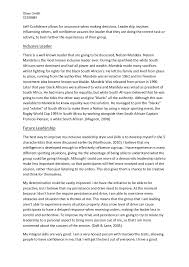essay that demonstrates leadership leadership essays