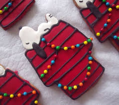 Snoopy Christmas Cookies - Neatorama