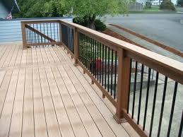 deck railing option image of composite railing deck option deck railing options deck railing option