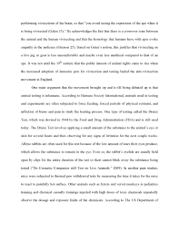 essay about cruelty to animals  essay about cruelty to animals