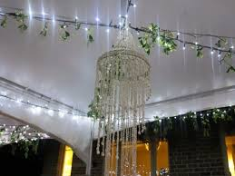 oliver hire shell chandelier
