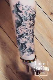 Tetovani Brno Kristina Vlci Tattoowolf Tattoo Dragoon