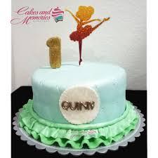 Ballerina Themed Fondant Cake Gba8 Cakes And Memories