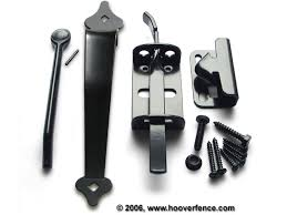 lever thumb latches hinges for wood gates hoover fence co