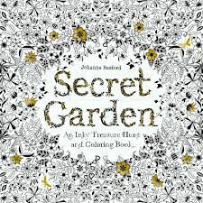 Coloring Secret Garden An Inky Treasure Hunt And Colouring Book