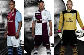 Buy aston villa football shirts and get the best deals at the lowest prices on ebay! New Aston Villa Kit 13 14 Macron Avfc Shirts 2013 2014 Home Away Dafabet Sponsor Football Kit News