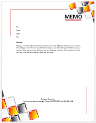 Microsoft Office Memo Template Word