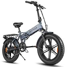 <b>500W Folding</b> E-Bike | Fat Tire Mountain Electric Bike | <b>ENGWE</b>