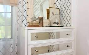 Rustic Whitewashed Nightstand Off White Nightstands ...