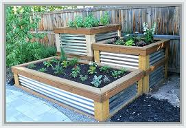 diy elevated garden beds beautiful outdoor raised above ground bed constructing a your