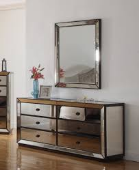 Silver Mirrored Bedroom Furniture T1805 Furniture Import Export Inc