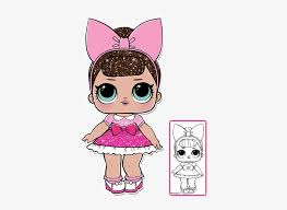 There are so so many different little babies and l.o.l. Lol Surprise Doll Coloring Pages Color Your Favorite Fancy Lol Doll Glitter 403x550 Png Download Pngkit