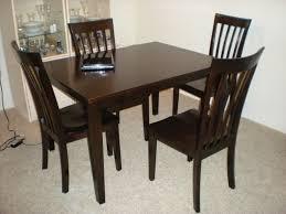 black wood dining room sets. Image Of: Chair Black Wood Dining Table And Chairs Ciov Inside Wooden Room Sets M