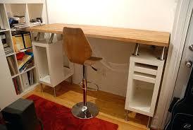 counter top desk awesome counter height writing desk build a height desk desks design ikea countertop