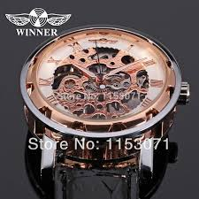 aliexpress com buy winner men mechanical fashion skeleton luxury aliexpress com buy winner men mechanical fashion skeleton luxury watches watch box high quality best price montre mecanique saatler from reliable