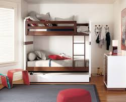 Modern Bunk Beds with Trundle Home Decor