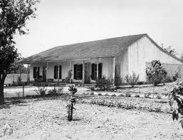 1936 exterior view of the tomas sanchez adobe la casa adobe de san rafael glendale in june 1936 following restoration in 1932 adobe tank san francisco ca